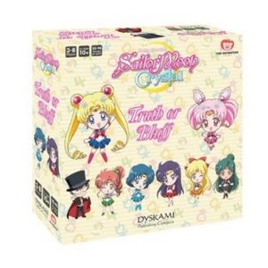 Sailor Moon Crystal Truth or Bluff Board Game